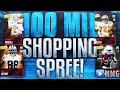 100 MILLION COINS SHOPPING SPREE!? Madden Mobile