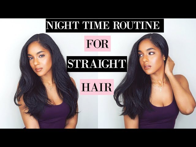 How To Take Care Of Straightened Hair While Sleeping