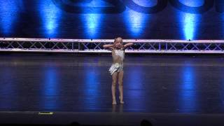 "Lilliana Ketchman 6 years old Lyrical solo ""Keep Breathing"" First Overall"