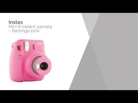 FujiFilm Instax mini 9 Instant Camera - Flamingo Pink | Product Overview | Currys PC World
