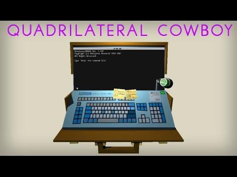 Steam community:: guide:: quadrilateral cowboy walkthrough.