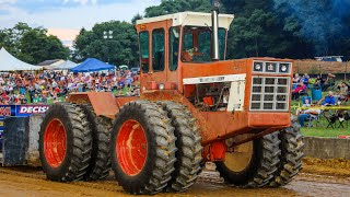 Farm Stock Tractors at Libertytown Maryland August 2019