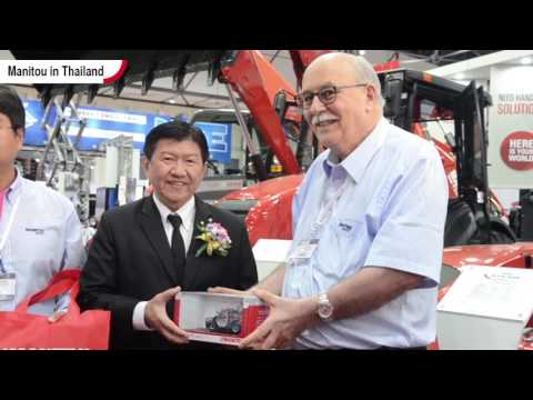Manitou at Intermat Asean exhibition