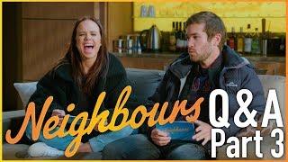 Neighbours Q&A   Bonnie Anderson (Beatrix Nillson) & Ben Hall (Ned Willis)   Part 3