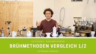 Filterkaffee zubereiten – 14 Brühmethoden im Vergleich | Teil 1/2