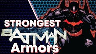 Batman's STRONGEST Armors!