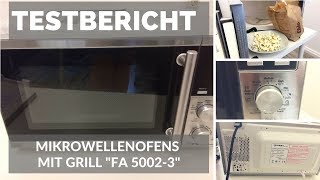 """► Test-Video des Mikrowellenofens mit Grill """"FA 5002-3"""" von TZS First Austria auf Deutsch ☑"""