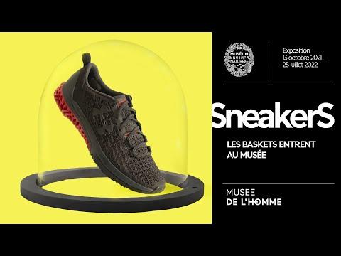 Teaser Sneakers, les baskets entrent au musée ! au Musée de l'Homme