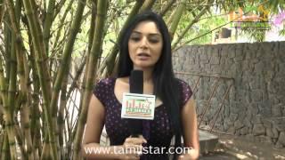 Sanam Shetty at Vilasam Movie Press Meet