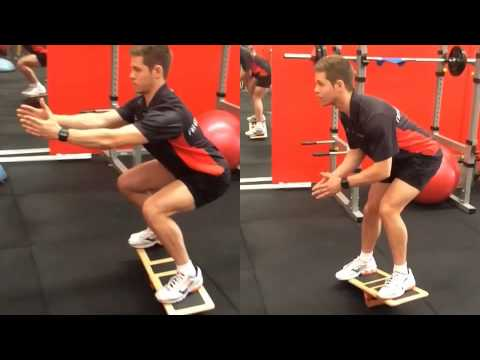 How To Do The Extreme Balance Board Squat