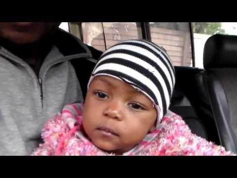 FUN WITH FAFI - Baby Fafi learns to drive a car