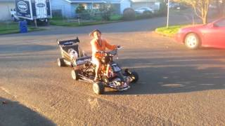 Acdc barstool racer 20 dog test ride