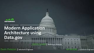 Enabling Modern Application Architecture using Data gov open government data