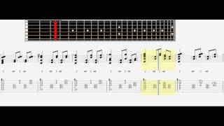 How To Play Sungha Jung    A Thousand Years (tab,tutorial)