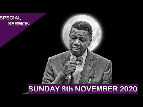 RCCG Live Sunday Service 8th November 2020 by Pastor E. A. Adeboye - Livestream