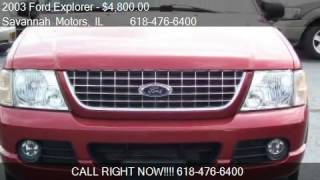 2003 Ford Explorer NBX 4WD 4dr SUV for sale in Millstadt, IL