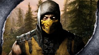 Skyrim Remastered: Mortal Kombat Scorpion Trilogy ~MOD SHOWCASE~ /W Killerkev