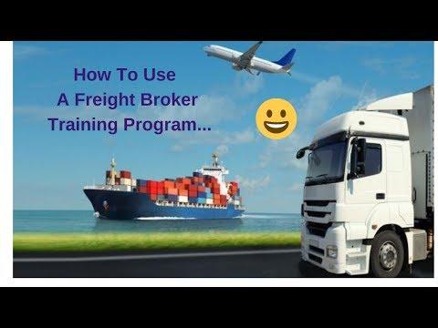 How Do You Use A Freight Broker Training Program...
