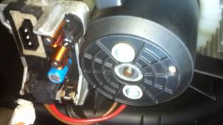 DIY BMW E65 E66 Air Conditioner Squeak Noise Fix ( blower motor resistor final stage )