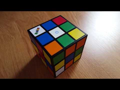 Altavoz-Bluetooth Cubo de Rubik`s licencia de BigBen interactive: encendido