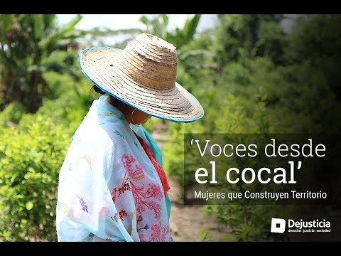 Voices from the cocal - women who build territory