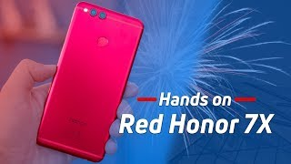 Red Huawei Honor 7X could be the perfect Valentine's Day gift