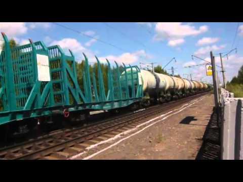 ВЛ80с-981 на станции Юморга онлайн видео
