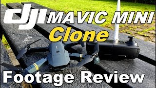 DJI Mavic Mini Clone Review GOING WRONG Eachine E58 Drone FLY AWAY During Footage Flight Test With P