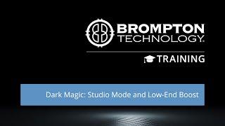 Quick Training: Dark Magic, Studio Mode & Low-End Boost