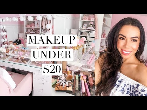 BEAUTY ON A BUDGET! MAKEUP UNDER $20!💕