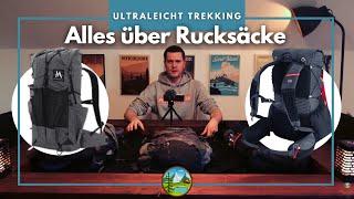Alles über Trekking Rucksäcke - Ultraleicht Empfehlungen 2021