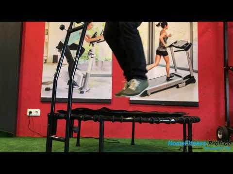 Fitnesstrampolin JokaFit Cacau Test | HomeFitness-Profi.de