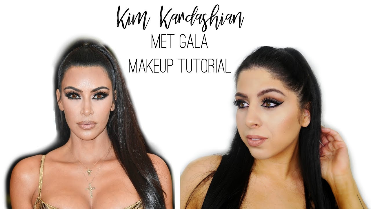Kim Kardashian Met Gala Inspired Makeup Tutorial