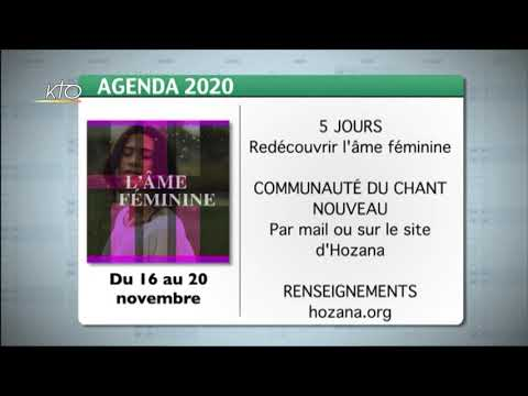 Agenda du 06 novembre 2020
