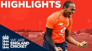 Archer & Morgan Shine For Hosts   England v Pakistan Only IT20 2019 - Highlights