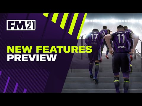 Officiële feature preview video van Football Manager 2021