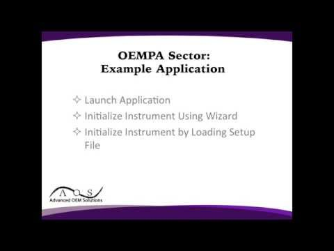 OEM-PA Sector: Example Application