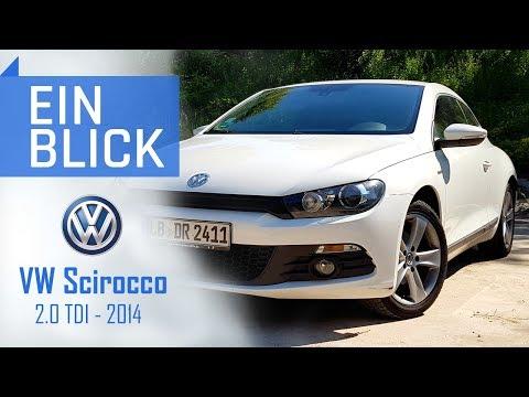 VW Scirocco 2.0 TDI 2014 - Nur ein unpraktischer Golf?  Vorstellung, Test & Kaufberatung