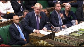 Live: MPs debate pre-Christmas general election | ITV News