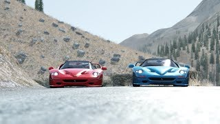 Ferrari F50 at Provence Alpes