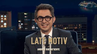 LATE MOTIV - Berto Romero. Body Painting | #LateMotiv570