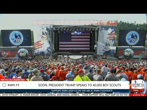 40,000 Boy Scouts at National Scout Jamboree