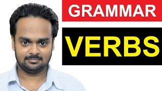 VERBS - Basic English Grammar - What is a VERB? - Types of VERBS - Regular/Irregular - State, Action