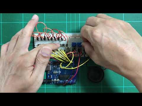Arduino 4 Step Sequencer Hack on Korg Monotron - смотреть онлайн на