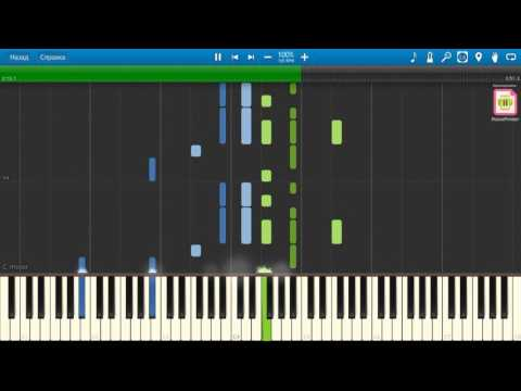 A-ha - Forest fire НОТЫ & MIDI | КАРАОКЕ | PIANO COVER