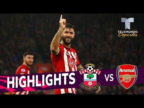 Download Southampton Vs. Arsenal: 3-2 Goals & Highlights | Premier League | Telemundo Deportes HD Mp4 3GP Video and MP3