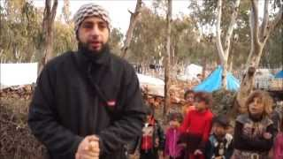 preview picture of video 'Medizin mit Herz e.V. / Winterhilfe in Idlib (Syrien) 01.2015 (Bitte teilen)'