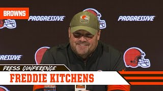 Freddie Kitchens on Jarvis Landry Nominated for Walter Payton Man of the Year | Cleveland Browns