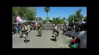 preview picture of video 'Desfile para conmemorar el 158 aniversario de la gesta heroica de 1857 en Caborca, Sonora'