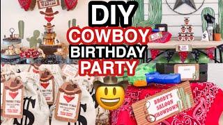 COWBOY BIRTHDAY PARTY IDEAS   TODDLER BOY BIRTHDAY PARTY IDEAS   Amanda Little